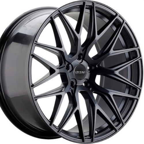 22x9 Varro VD06 Gloss Black wheels by Kixx Motorsports https://www.kixxmotorsports.com 1