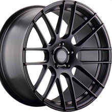22x9 Varro VD08 Satin Black Wheel