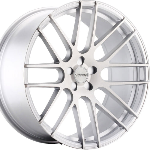 22x9 Varro VD08 Silver concave wheels. Authorized Dealer Kixx Motorsports https://www.kixxmotorsports.com 7