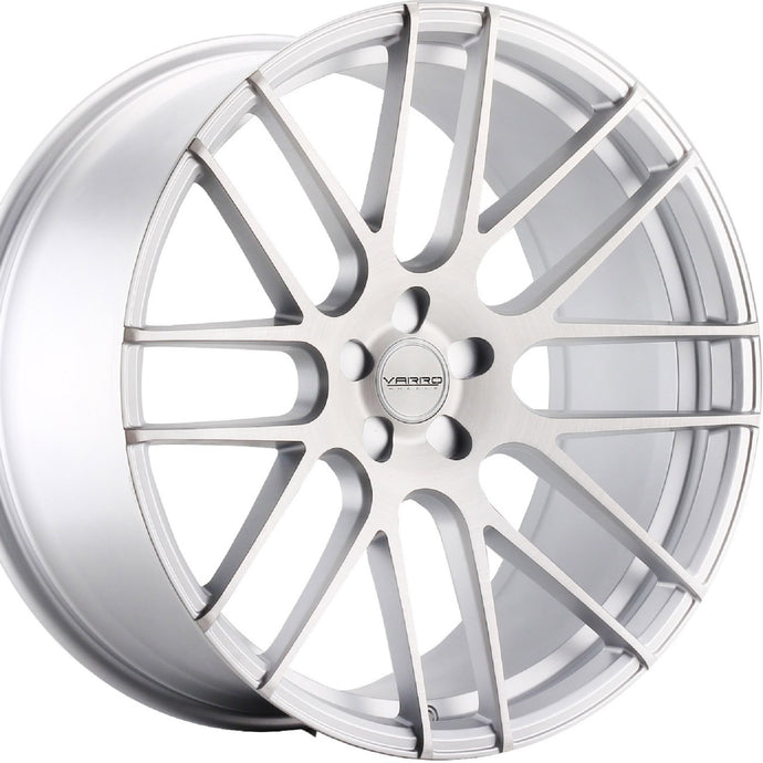 22x10.5 Varro VD08 Silver concave rims wheels. Top Rated Authorized Dealer Kixx Motorsports https://www.kixxmotorsports.com 7