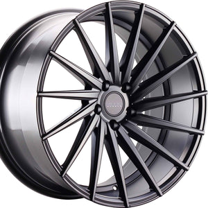 "20"" Varro VD15 concave staggered wheels rims by Kixx Motorsports https://www.kixxmotorsports.com"