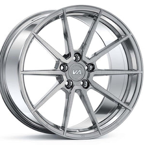 20x10 20x11 Variant Argan Brushed Titanium silver staggered concave forged wheels rims by Top Rated Authorized Dealer Kixx Motorsports https://www.kixxmotorsports.com 1
