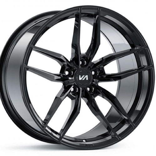20x10 Variant Krypton black chrome wheels rims by Authorized Dealer Kixx Motorsports https://www.kixxmotorsports.com 4
