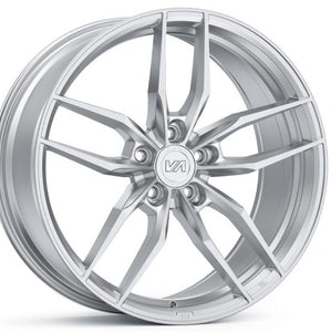 Variant krypton brushed Silver concave forged wheels by Kixx Motorsports https://www.kixxmotorsports.com 1