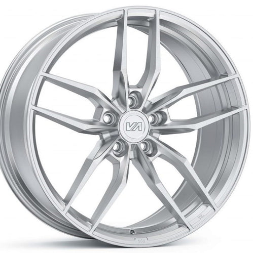 Variant krypton brushed Silver concave forged wheels by Kixx Motorsports https://www.kixxmotorsports.com 4