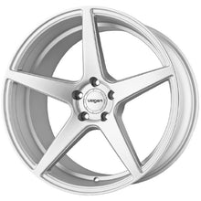 "19"" Velgen Classic 5 Silver concave wheels by KIXX Motorsports https://www.kixxmotorsports.com/products/19-full-staggered-set-velgen-classic-5-19x8-5-19x10-satin-silver-wheels"