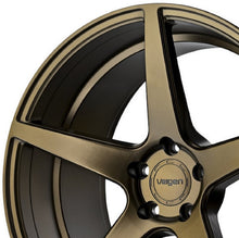 "19"" Velgen Classic 5 Bronze Concave wheels by KIXX Motorsports https://www.kixxmotorsports.com/products/19-full-staggered-set-velgen-classic-5-19x8-5-19x10-satin-bronze-wheels"