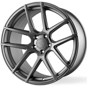 "19"" Velgen VMB5 Gunmetal Concave Wheels Rims. Staggered Fitment by KIXX Motorsports https://www.kixxmotorsports.com/products/19-full-staggered-set-vegen-vmb5-19x9-19x10-5-satin-gunmetal-wheels"