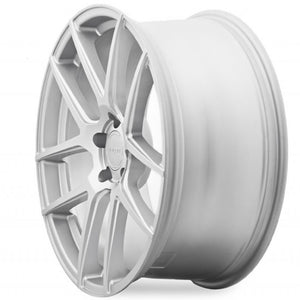 "19"" Velgen VMB5 Silver Concave Wheels Rims by Kixx Motorsports https://www.kixxmotorsports.com/products/copy-of-19-full-staggered-set-vegen-vmb5-19x9-19x10-5-satin-silver-wheels"