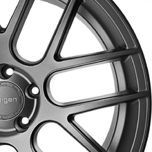 "20"" Vegen VMB7 Gunmetal concave wheels rims by KIXX Motorsports https://www.kixxmotorsports.com/products/20-full-staggered-set-velgen-vmb7-20x9-20x10-5-satin-gunmetal-wheels"