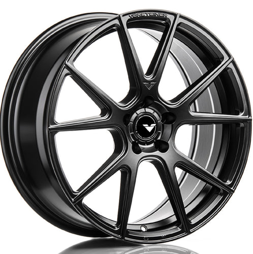 Vorsteiner V-FF 106 Black wheels. Concave staggered forged rims by Kixx Motorsports https://www.kixxmotorsports.com