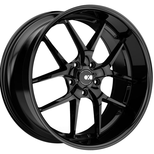 22x9 XO Athens Gloss Black Wheels rims by Kixx Motorsports https://www.kixxmotorsports.com
