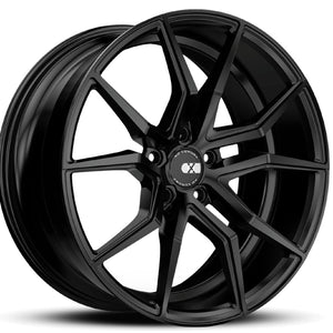 "22"" XO Verona Black concave staggered wheels rims by Kixx Motorsports https://www.kixxmotorsports.com"