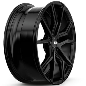 19x9.5 20x11 XO Verona Black concave wheels rims for Chevy Corvette C6 C7 Stingray Z51 by Kixx Motorsports https://www.kixxmotorsports.com 2