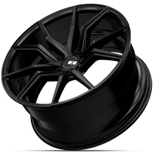 22x10.5 XO Verona Black wheels rims by Kixx Motorsports https://www.kixxmotorsports.com 1