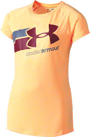 Under Armour Girls' Novelty Big Logo T-Shirt