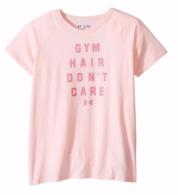 Girls' UA Gym Hair Don't Care T-Shirt