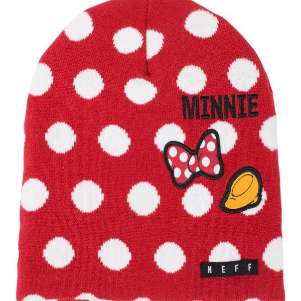 Neff Girls' Disney Minnie Mouse Polka Dot Daily Beanie