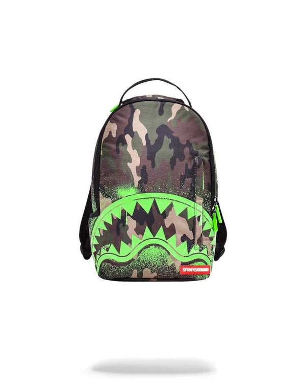 Spraygound Camo Glow Mini Backpack (O/S, Multi)