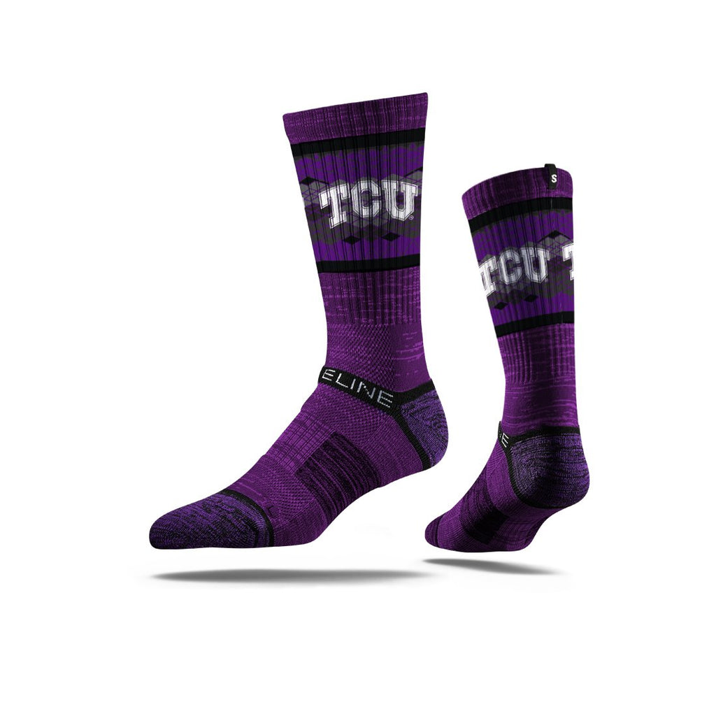 Strideline NCAA Premium Athletic Crew Socks