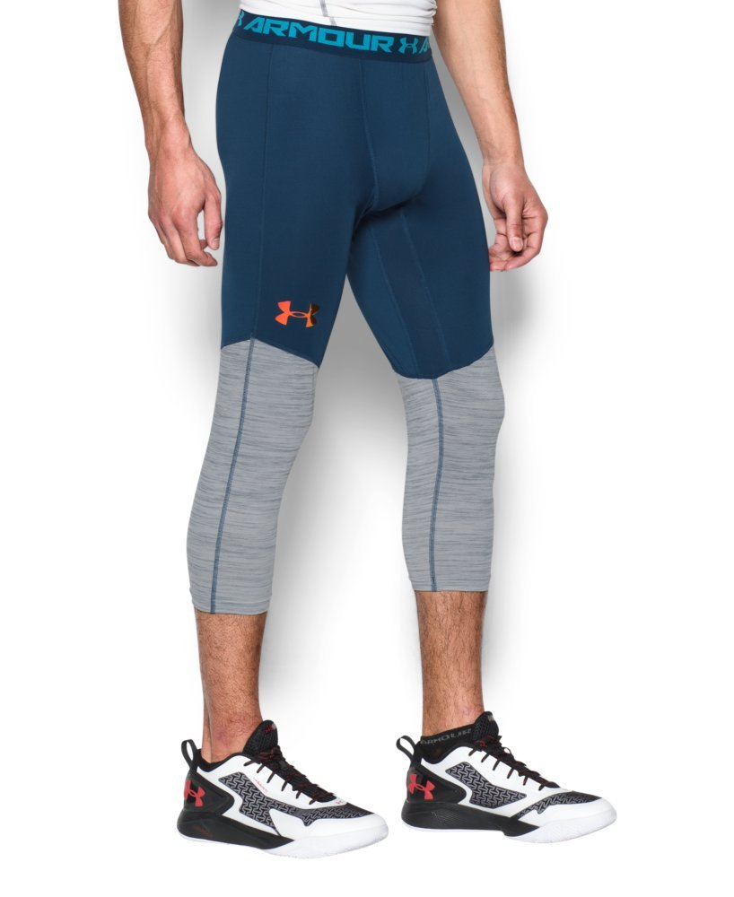 Under Armour Men's UA CoolSwitch190; Compression Leggings X-Large BLACKOUT NAVY