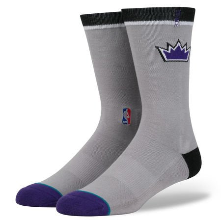 Stance NBA Kings Logo Crew Large 9-12