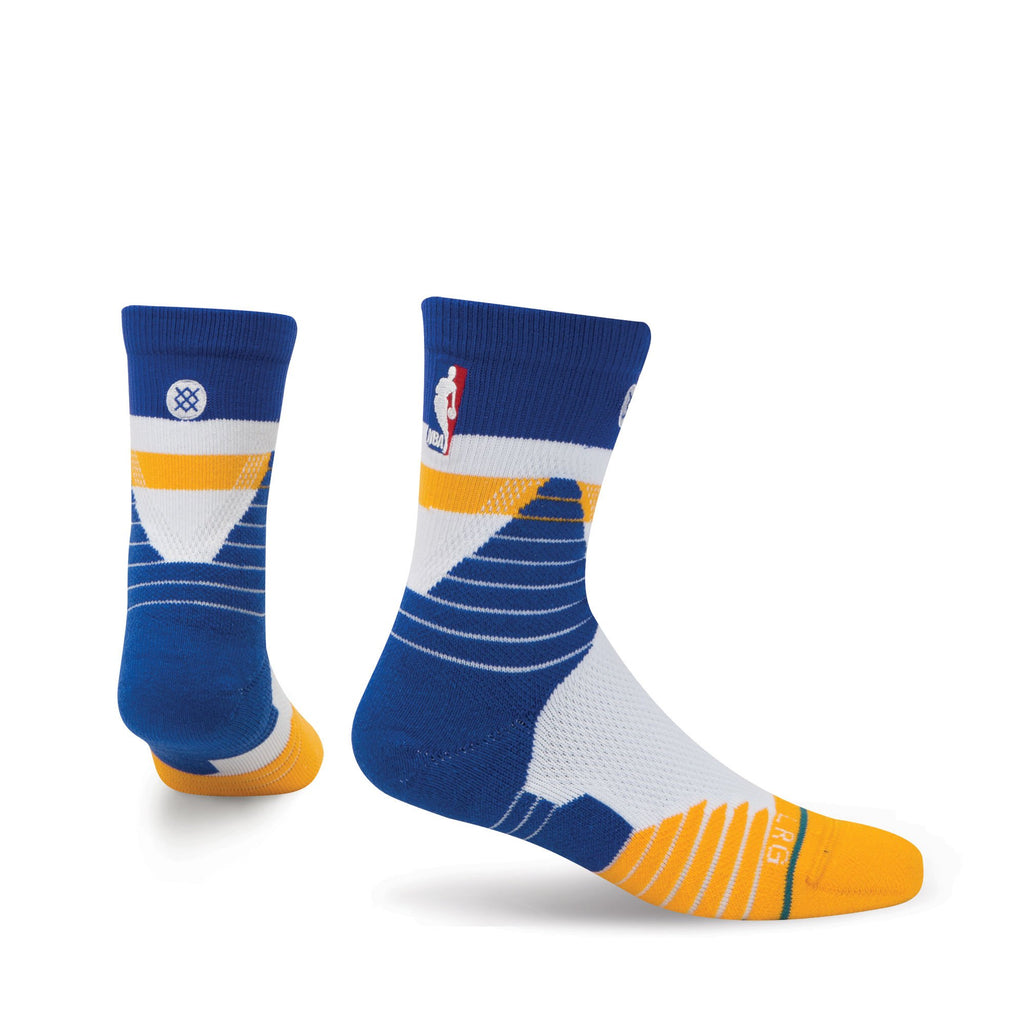 Stance NBA Warriors Core Qtr Alt 1 (M 6-8.5)