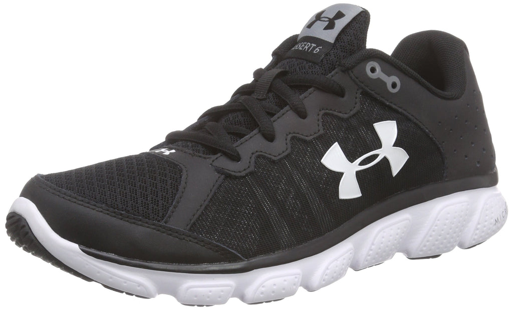 Under Armour Micro G Assert Size 9 Black/white
