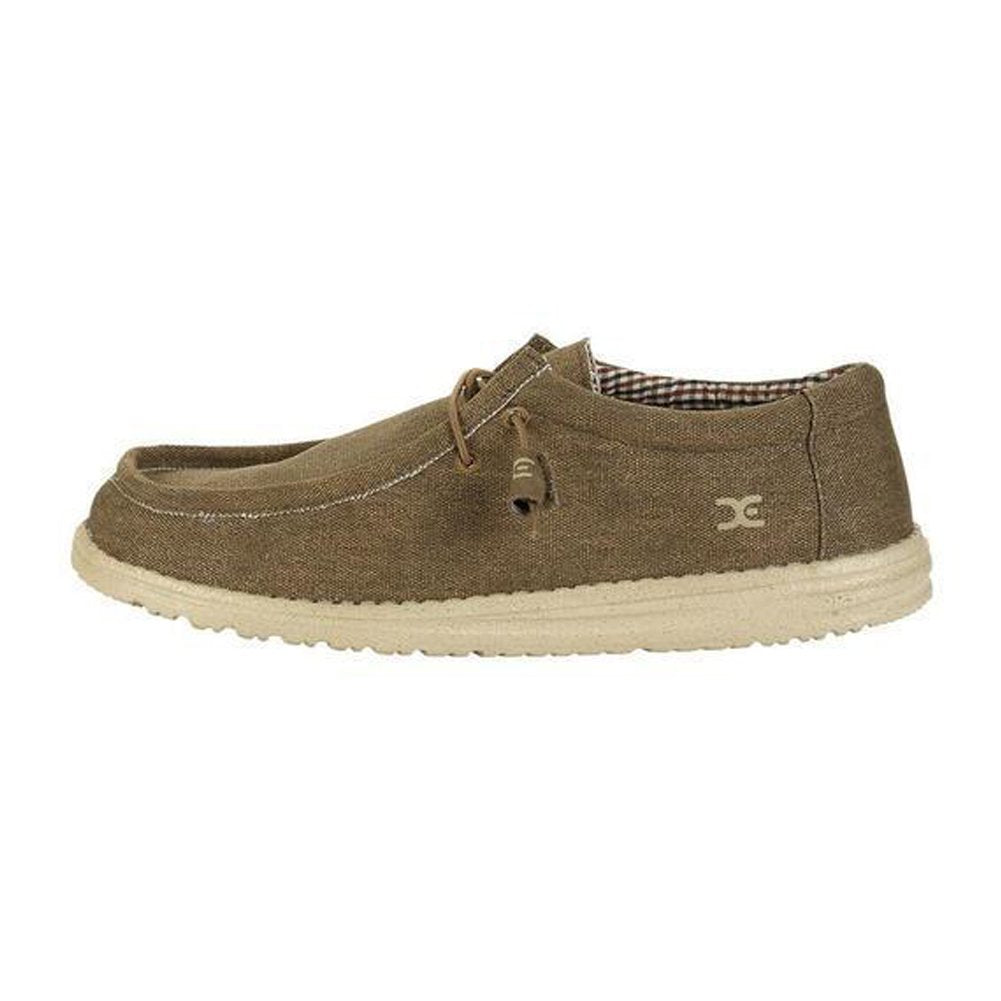 Hey Dude Men's Wally L Nut Shoes