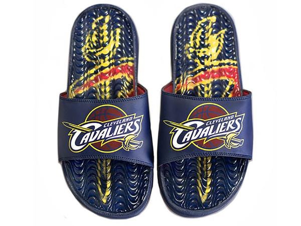 ISlide NBA Cleveland Cavaliers Wave Gel Slides by ISlide - Top 10 Sports | Winner, SD 57580 | (605)831-9138