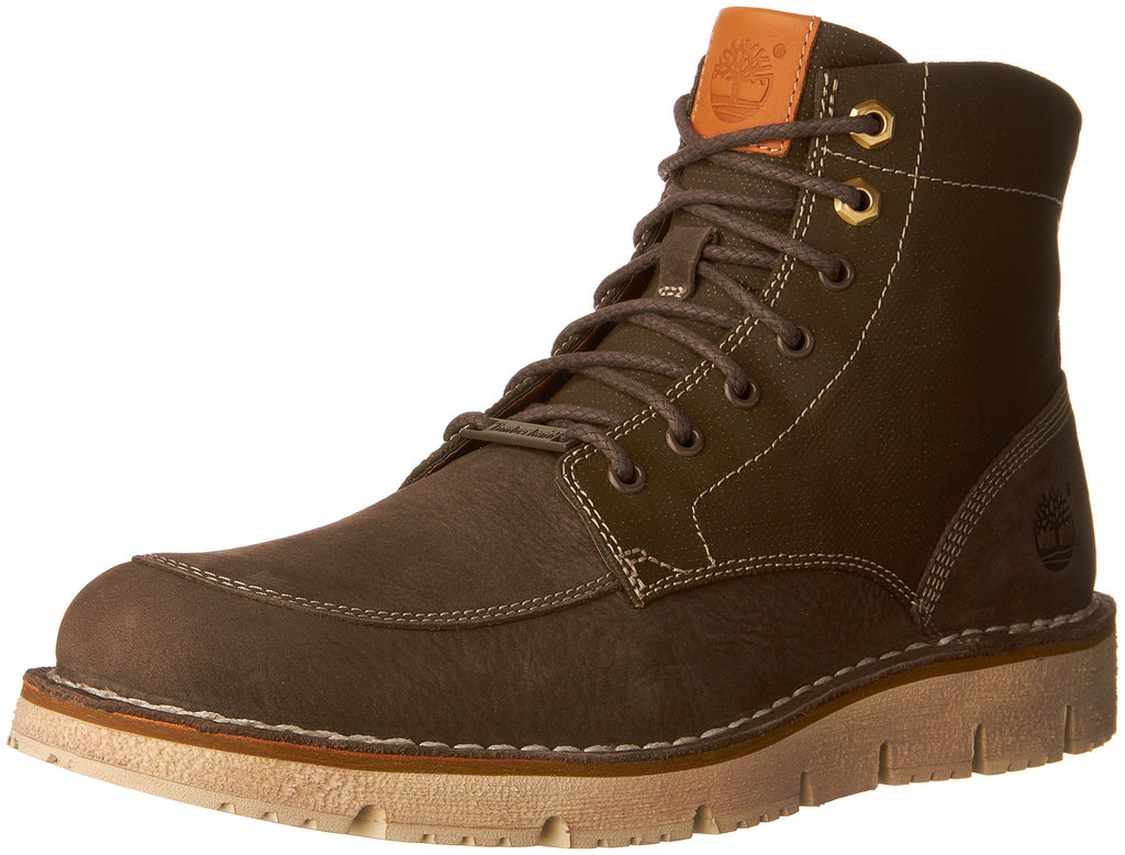 Timberland Mens Westmore Leather Fabric Boot