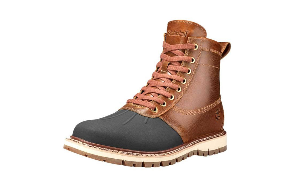 Timberland Mens Britton Hill Rubber Toe Boot