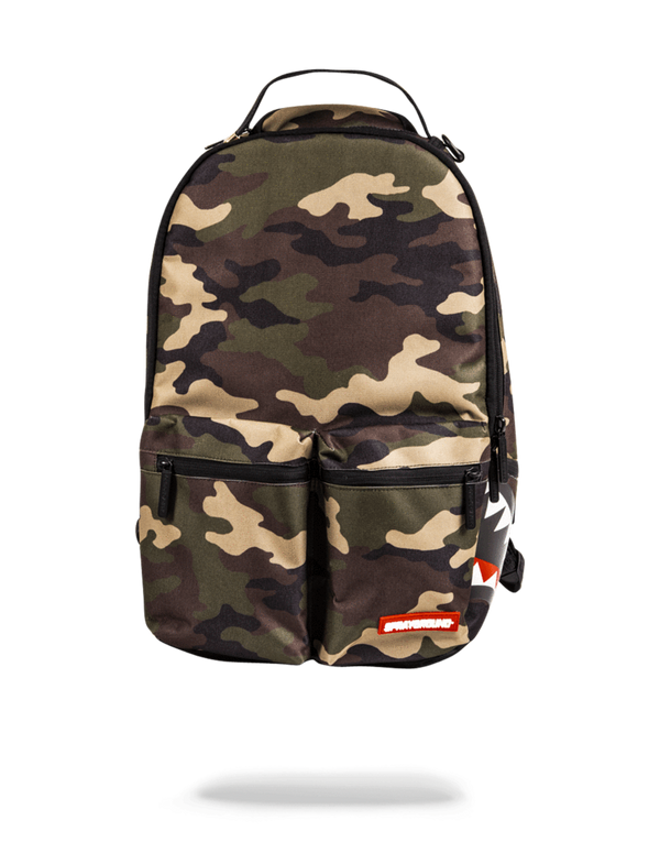 DOUBLE CARGO SIDE SHARK (CAMO) by Sprayground - Top 10 Sports | Winner, SD 57580 | (605)831-9138