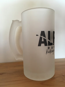 Frosted Alpine Beer Mugs