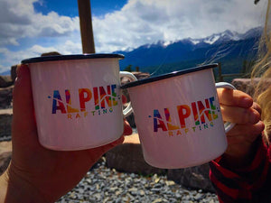 Alpine Metal Camping Mugs