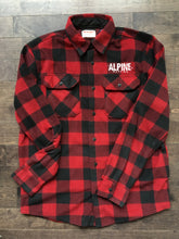Wrangler Red Plaid Fleece