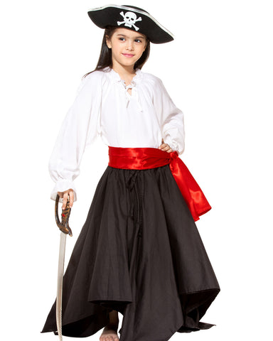 Girls Pirate Skirt