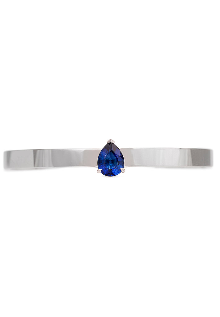 Blue Colorstone Cuff Bangle - K.D. Jewelry Sf