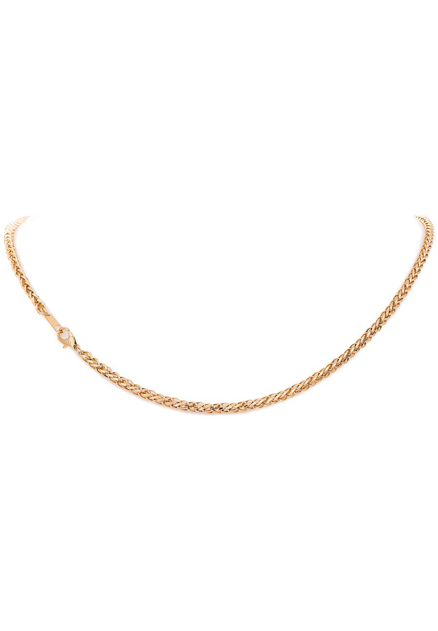 18K Yellow Gold Diamond Cut Rope Chain - K.D. Jewelry Sf