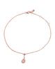 Rose Gold Diamond Anklet - K.D. Jewelry Sf