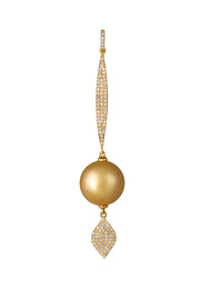 South Sea Pearl and Diamond Pendant Set - K.D. Jewelry Sf