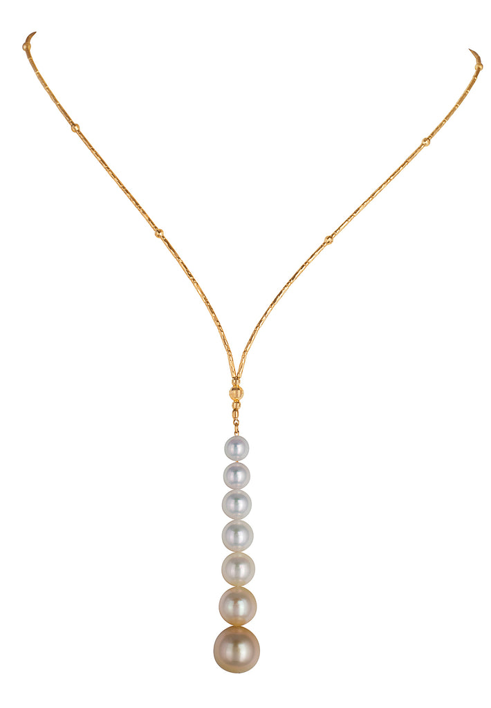 Adjustable South Sea Pearl Necklace - K.D. Jewelry Sf
