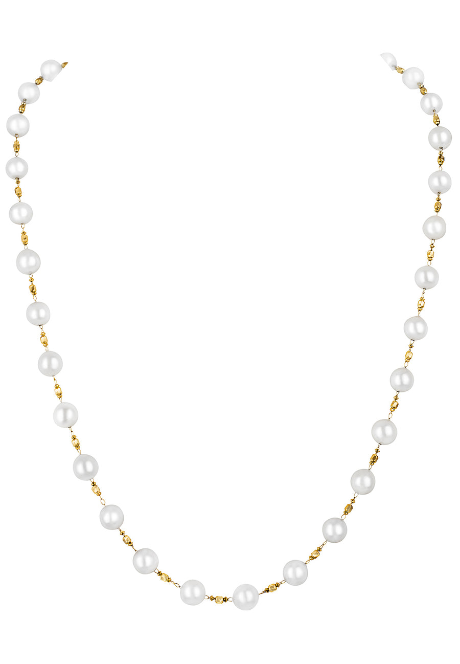 Akoya Pearl Magnet Necklace Turns Bracelet - K.D. Jewelry Sf