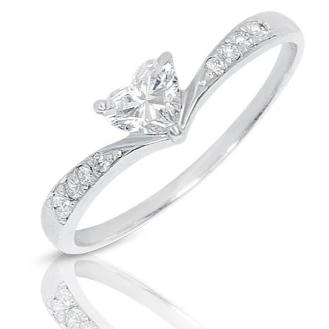 Heart Diamond Ring - K.D. Jewelry Sf