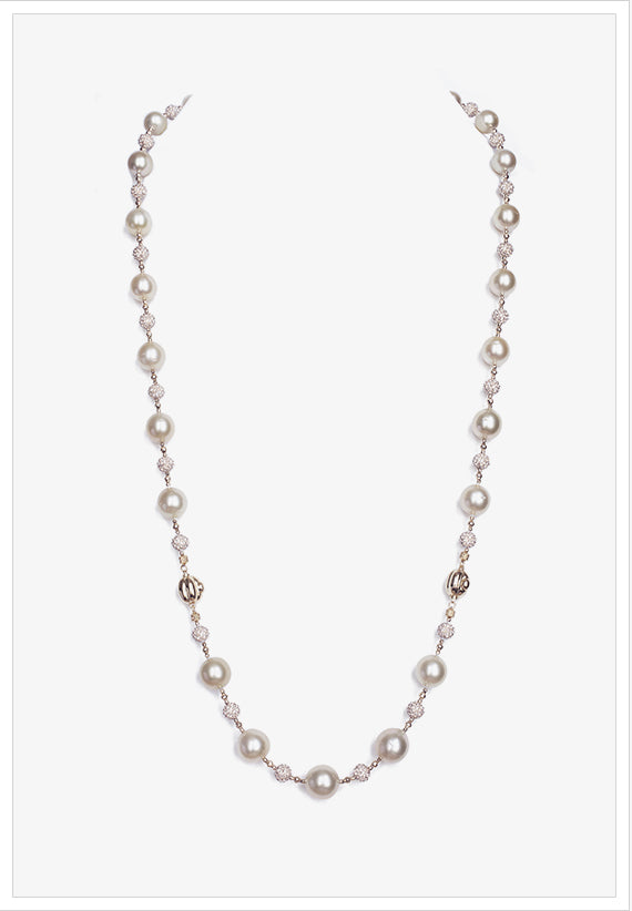 Pearl Necklace Turns Bracelet - K.D. Jewelry Sf