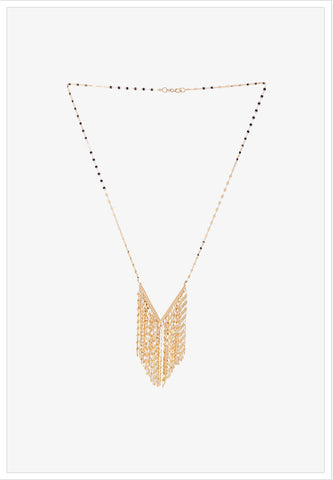 Chandelier Gold Necklace