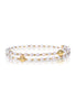 Free-Size Pearl Spiral Bangle - K.D. Jewelry Sf