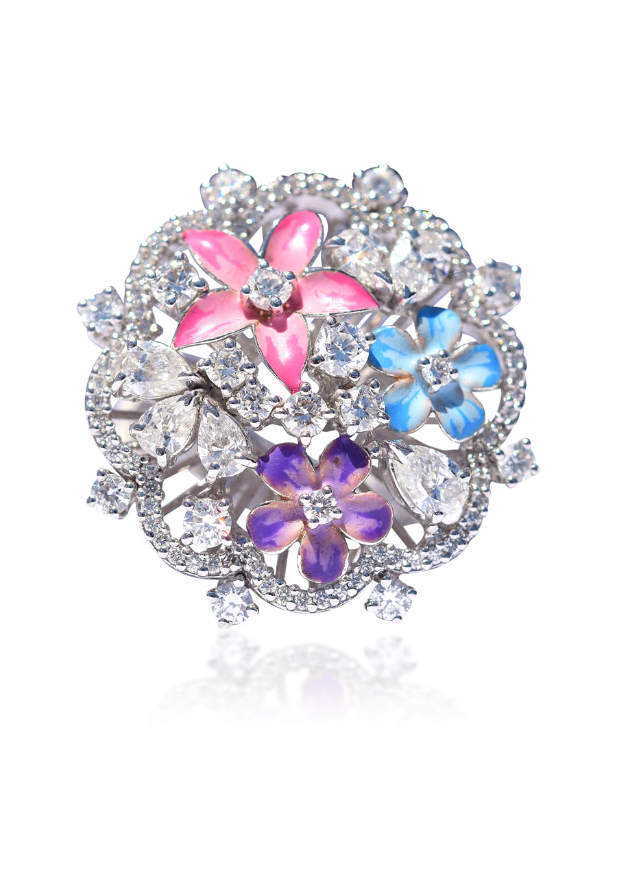 Garden Diamond Ring