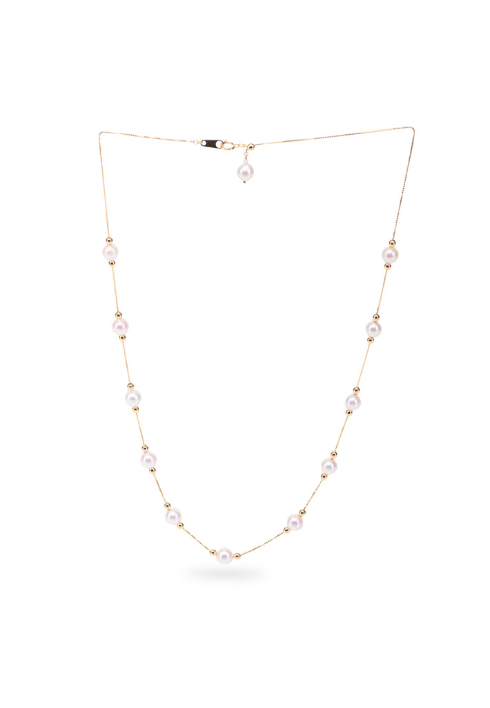 Adjustable Akoya Pearl Necklace - K.D. Jewelry Sf
