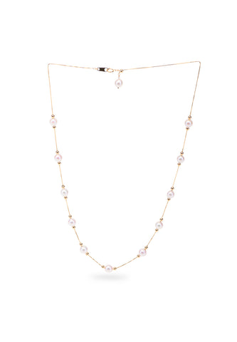 Adjustable Akoya Pearl Necklace